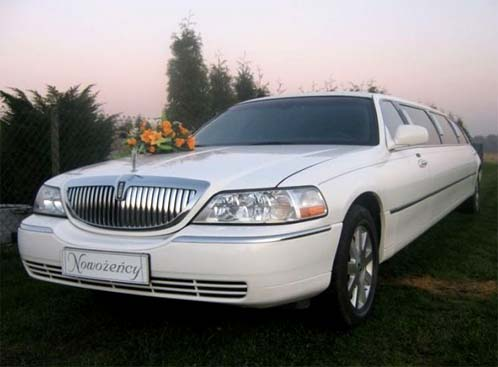 Lincoln stretch limo Katowice