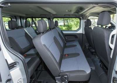 Opel                     Vivaro bus Rental Warsaw interior 1