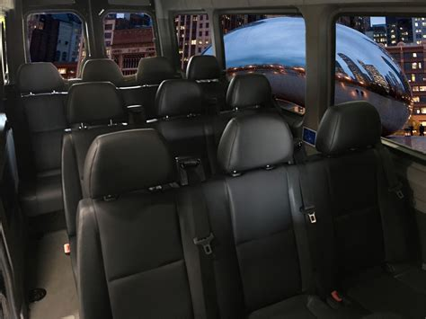 Mercedes Sprinter hire Gdansk interior